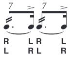 seven-stroke-roll