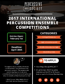 2017 International Percussion Competitions-web