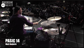 Matt Halpern PASIC14 Clinic