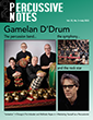 Percussive Notes July 2015 Cover