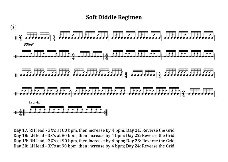 Soft Diddle Regimen 2