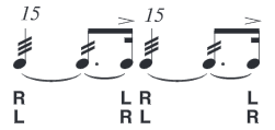 picture about Printable Drum Rudiments known as Rudiments