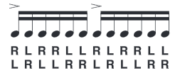 single-paradiddle-diddle